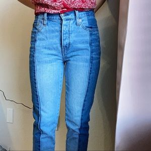 AMERICAN EAGLE VINTAGE HIGH RISE JEANS SIZE 0